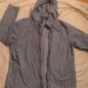 Hooded light weight jacket